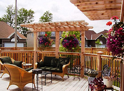 Decks to fit your landscaping and decor