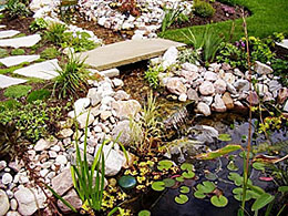 Ponds and Water Features from Adorn Landscaping